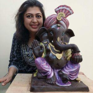 Winning Interview with Rintu Kalyani Rathod – The Creator of Eco-friendly Chocolate Ganesha & Founder Food Army