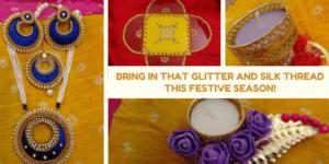 Bring In That Glitter And Silk Thread This Festive Season!