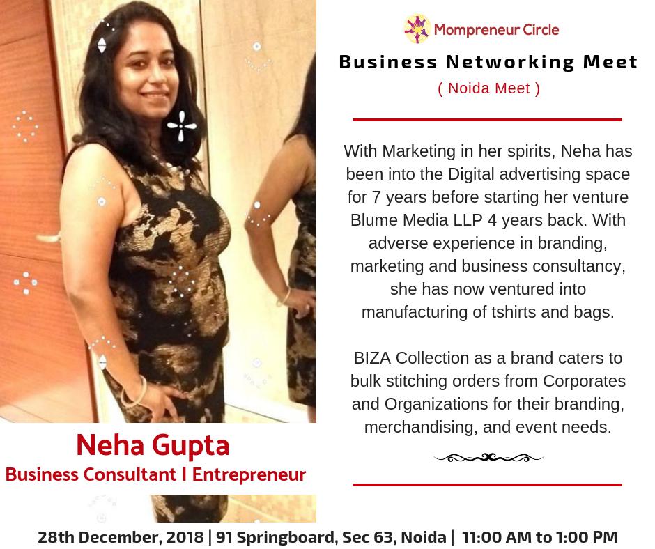 Neha Gupta - Business Consultant