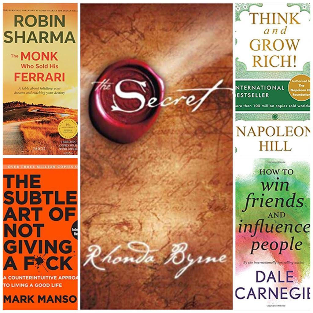 5 Self-Help International Best Sellers to Read Which Can Change Your Life