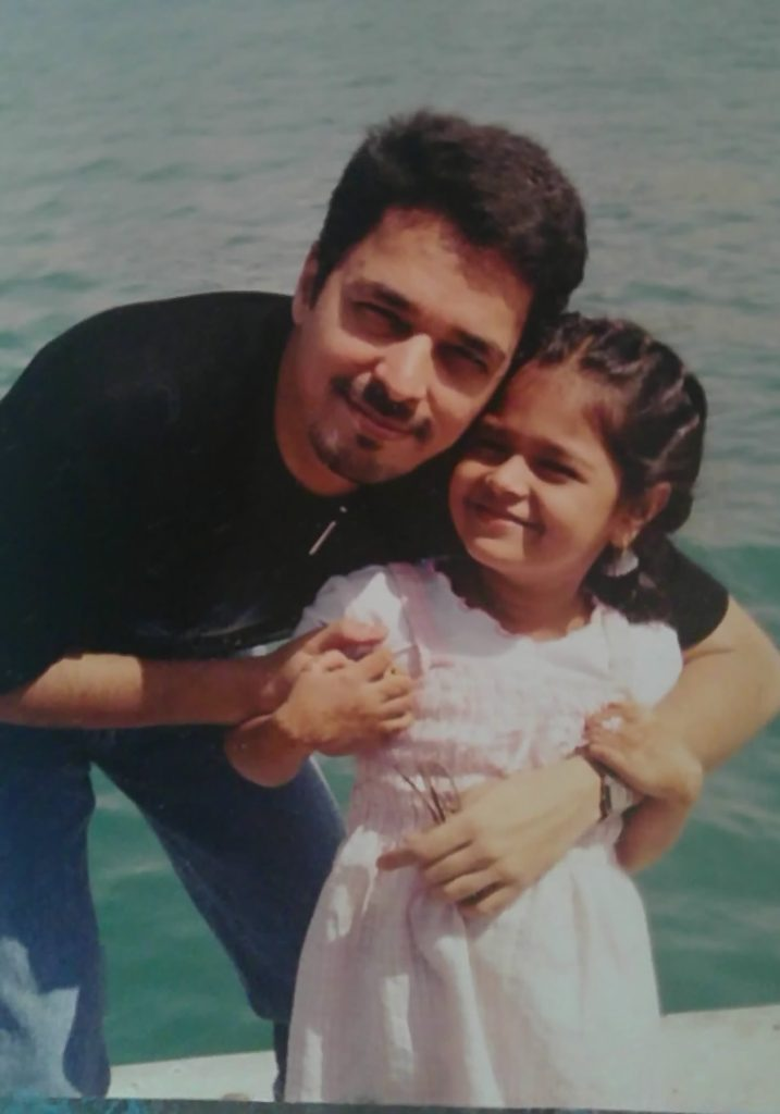 Father-Daughter In Sarrah's Childhood