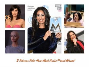 5 Women Who Made India Shine Internationally – Women Achievers On A Mission