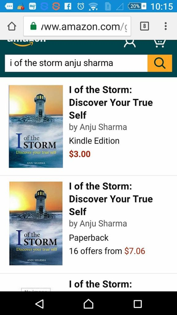 I of the Storm at Amazon