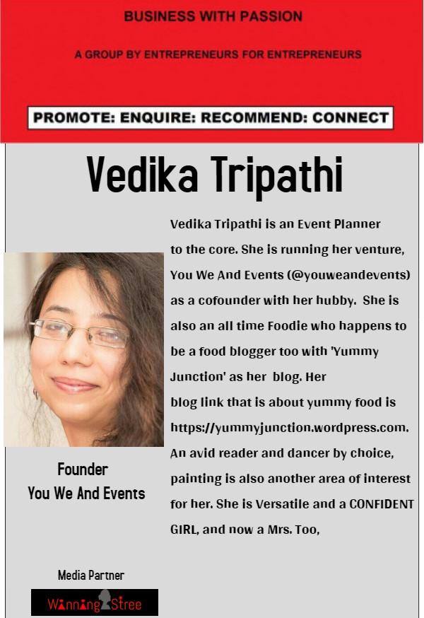 Vedika Tripathi