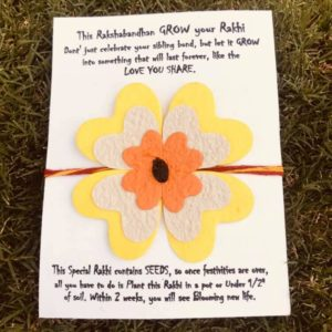 Eco-Friendly Rakhi