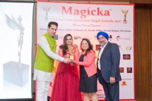 Being Awarded At Magicka