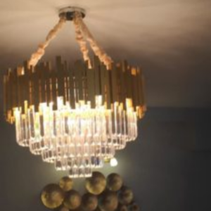 Chandelier With Handmade Effect - Interior Design Trends 2020