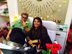 With Subhash Ghai
