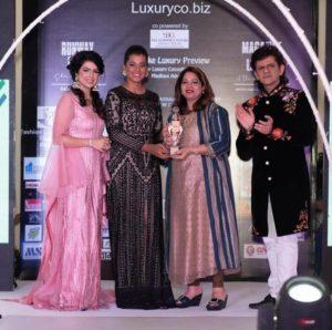Being Awarded by Mughda Godse
