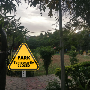 Park Lockdown - Winning Stree