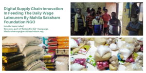 Mahila Saksham Foundation: A Ray of Hope For Daily Wage Labourers During This Pandemic Situation