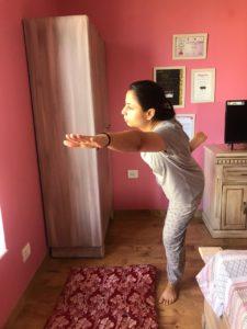 Yoga while Lockdown