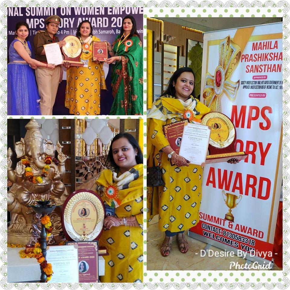 Divya Awarded
