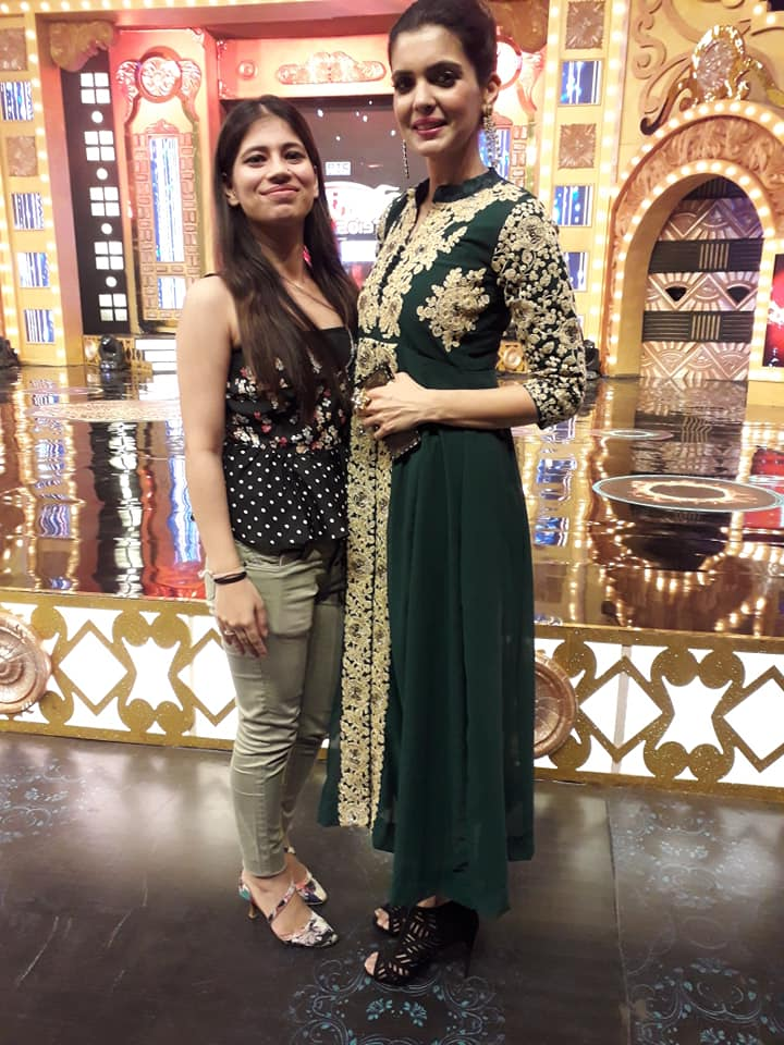 Sukriti With Model Ihana Dhillon