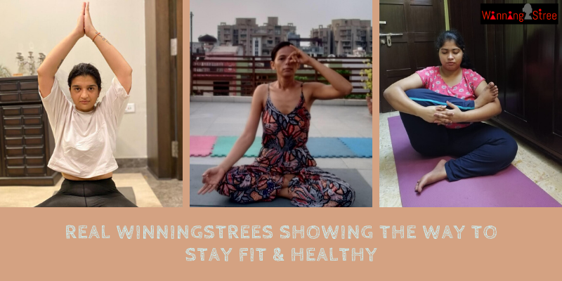 Real WinningStrees Show The Way On This International Yoga Day
