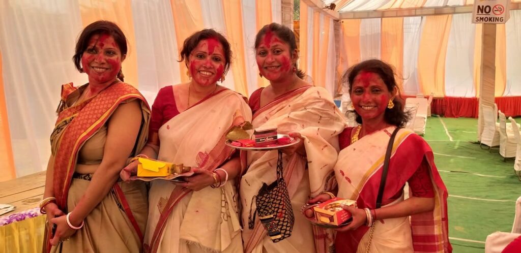 Bangla Women at Family Functions