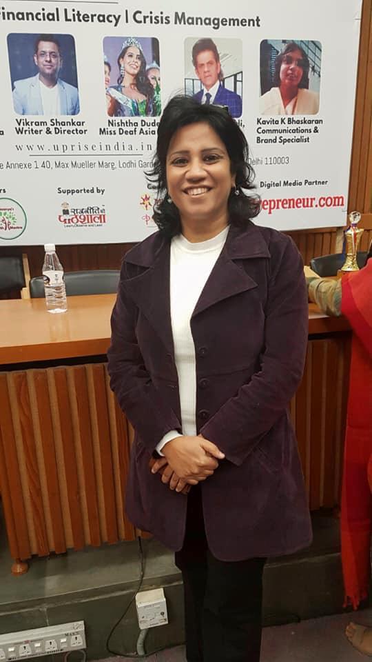 Smiling Neeru Sood