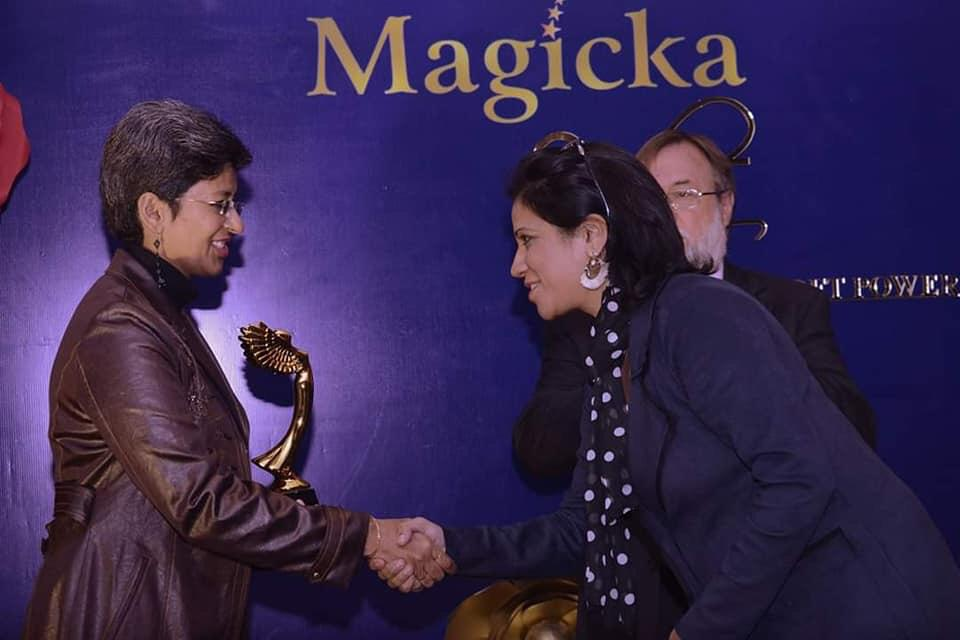 Neeru At Award Show