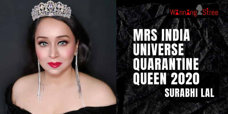 Delhi Blogger Surabhi Lal Crowned Mrs. India Universe 2020 Quarantine Queen During COVID-19
