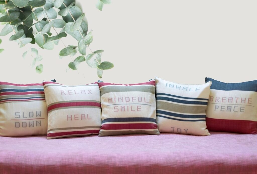 Cushion Covers - White Light Elements