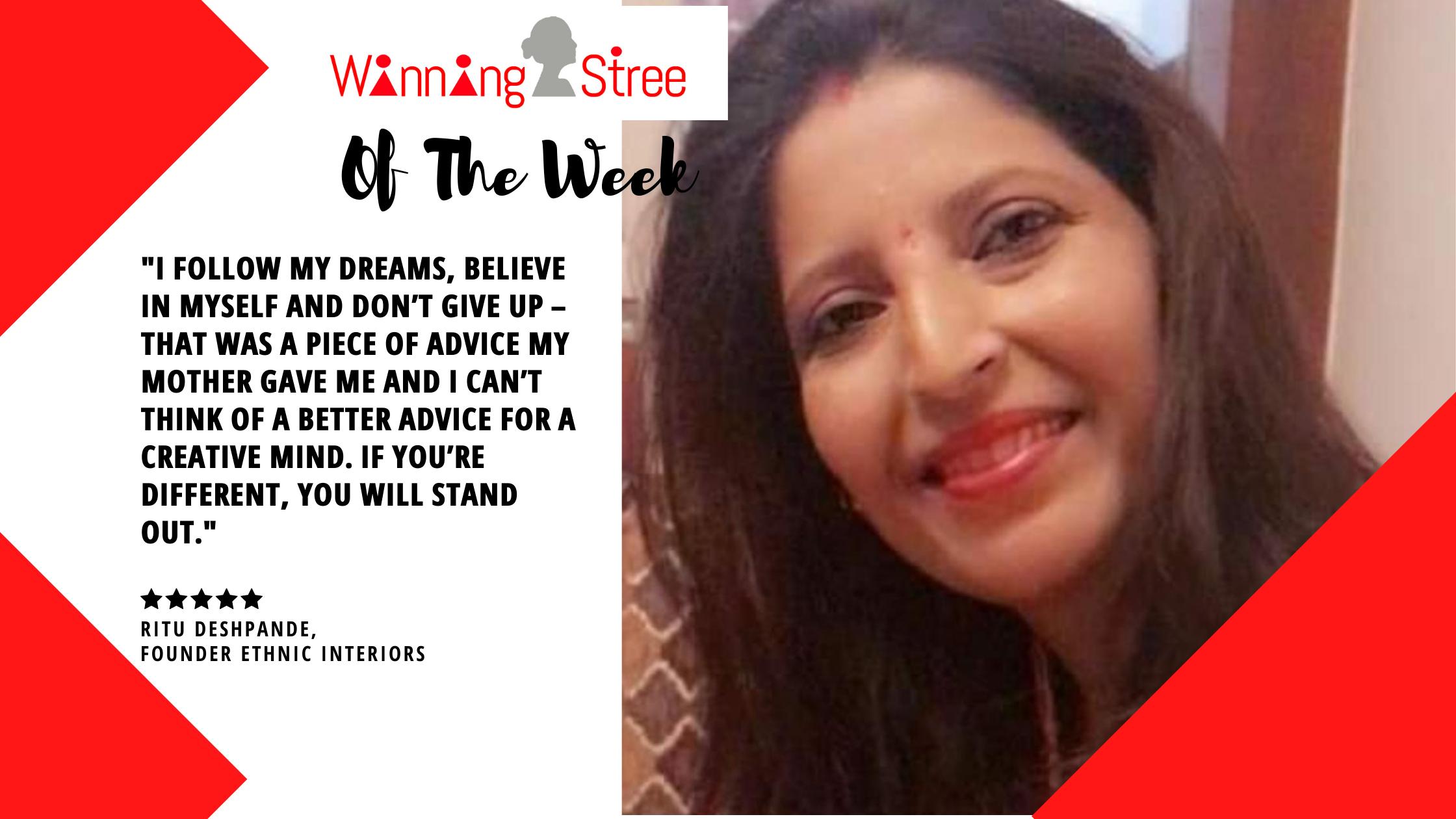 Meet Ritu Deshpande – An Enterprising Designer With An Industrious Streak