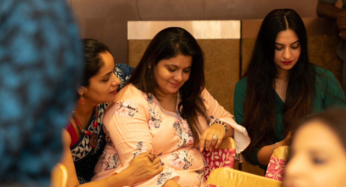 Left to Right : Arti Soni, Sapna Khemani, Smriti Dutta