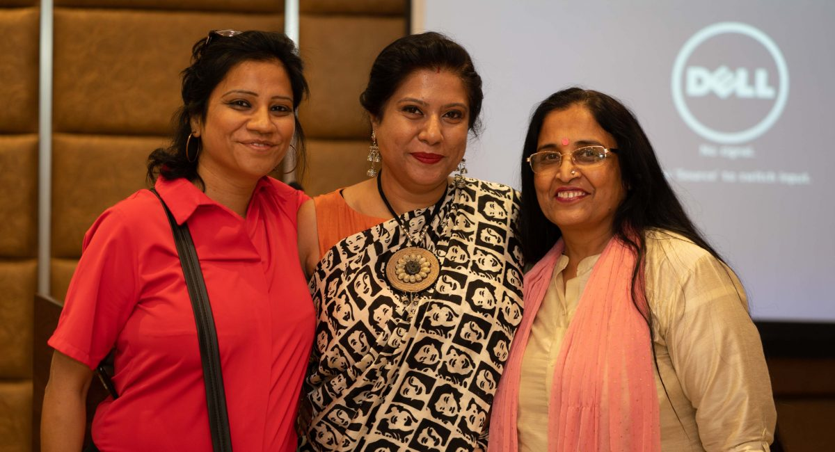 Left to Right : Neeru Sood, Tanusri and Madhu Mitra